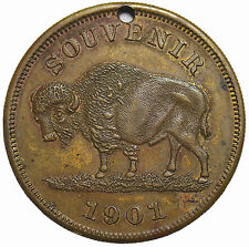 1901 Buffalo Pan-American Exposition New York So-Called Dollar Medal HK-291