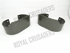 NEW WILLYS FORD JEEP MILITARY REAR BUMPER SET MB GPW M38 CJ2A CJ3A CJ3B