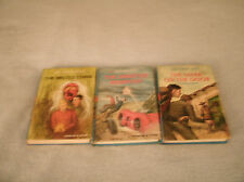 Lot of 3 Vintage Hardy Boy Books in great used condition