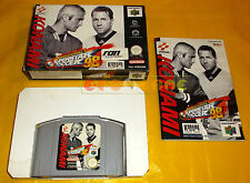 INTERNATIONAL SUPERSTAR SOCCER 98 Nintendo 64 N64 ISS PAL Europeo ○○○○○ COMPLETO
