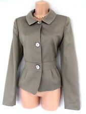 GEORGES RECH FAB URBAN SAFARI CASUAL CHIC FITTED SPRING SUMMER JACKET 10