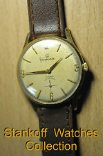 """Simphonie"" ~21J cal.AS1130 Old Circa 1955's Swiss G/P case Men's Wristwatch"