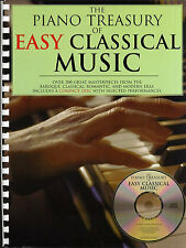 The Piano Treasury Of Easy Classical Music Learn to Play Piano Music Book & CD