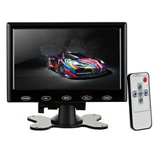 7 inch HD HDMI LCD Display Screen Monitor Black With VGA / HDMI / AV / Audio