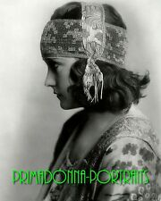 "GLORIA SWANSON 8X10 Lab Photo B&W 1919 ""DON'T CHANGE YOUR HUSBAND"" Portrait"