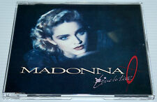 MADONNA - LIVE TO TELL - 3 TRACK GERMAN YELLOW CD SINGLE - SIRE 1995 - RARE