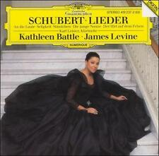 NEW Schubert: Lieder ~ Kathleen Battle; Franz Schubert [Composer]; James Levine