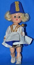 "Vintage 8"" Vogue Ginny Doll in Tagged Majorette Outfit BKW ML"