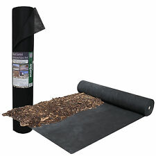 100M X 1M WEED CONTROL FABRIC GROUND COVER POROUS MEMBRANE ROLLS LANDSCAPING NEW