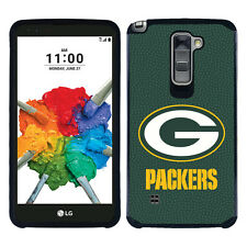 Green Bay Packers LG Stylo 2 PLUS (Large) ONLY Pebble Grain Feel 2 Layer Case