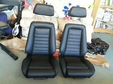 RECARO SEAT KIT E21 E10 320IS (2) UPHOLSTERY KIT OEM GERMAN VINYL BEAUTIFUL