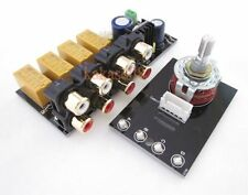 Audio Input signal Selector Relay Board / Signal Switching Amplifier Board+ RCA