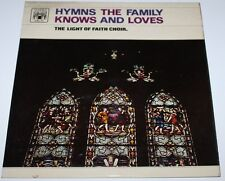 THE LIGHT OF FAITH ORCHESTRA - Hymns The Family Knows [Vinyl LP] UK MAL 628 *EXC
