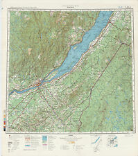 Russian Soviet Military Topographic Maps  - QUEBEC (Canada),  1:500 000