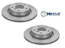 BMW E46 318 320 323 325 328 Ci REAR MEYLE GERMANY PLATINUM BRAKE DISCS 294mm
