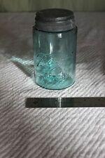 Vintage/Antique Ball Mason Underlined Three L Dropped Pint Jar Old Shoulder Blue