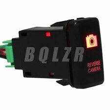 Red Push Switch S-OT Reverse Camera Toggle Switch for Old Style TOYOTA