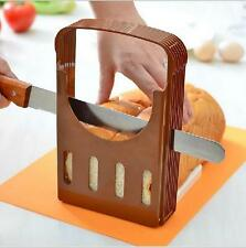Foldable Bread Toast Loaf Sandwich Slicer Cutter Mold Kitchen Guide Slicing Tool