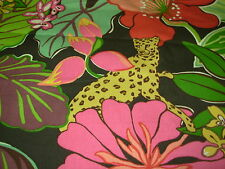 ~BTY~P KAUFMANN~LEOPARD JUNGLE ANIMAL~COTTON UPHOLSTERY FABRIC~FABRIC FOR LESS~
