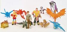 HOW TO TRAIN YOUR DRAGON Figure Set PVC TOY Cake Topper HICCUP Toothless ASTRID!