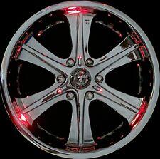 BlingX BlinX Red LED wheel lights lighting - 4 pack - NEW