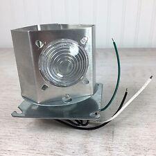 Revolving Motorized Light for Model Lighthouses, 120 Volt AC, 3 Frenzel Lenses