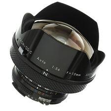 Nikon Nikkor-QD.C 15mm 5.6 Ai Lens Near Mint Condition