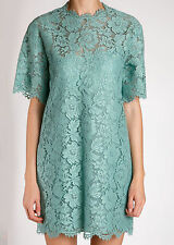 VALENTINO FLORAL LACE DRESS SIZE 40