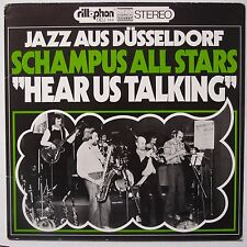 SCHAMPUS ALL STARS: Hear Us Talking SCARCE PRIVATE 1978 JAZZ vinyl LP
