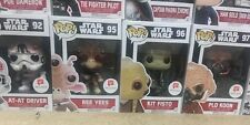 Walgreens Star Wars Funko Pop Set (AT-AT Driver, Ree Yees, Kit Fisto, Plo Koon)