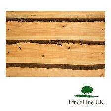 10 Pack 15mm Weany Edge Timber Cladding 1.8m Long Live edge Shed Garden Fence
