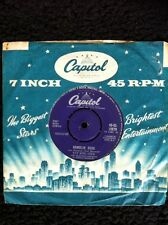"Nat King Cole - Ramblin Rose / The Good Times 7"" Vinyl Capitol 45-CL 15270 (1962"
