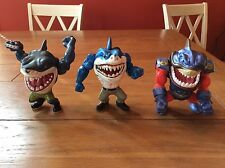 1994 Street Sharks Lot Of (3) Action Figures RIPSTER + More Street Wise Mattel
