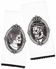 Sourpuss Zombie Cameo Set Rockabilly Punk Goth Pinup Tattoo Bathroom Towel