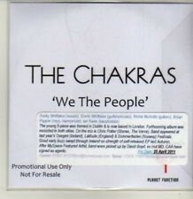 (CQ757) The Chakras, We The People - 2011 DJ CD