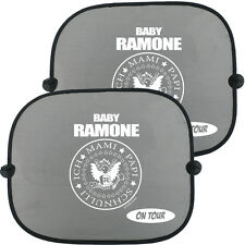 BABY RAMONE ON TOUR Auto Kinder Sonnenschutz, Doppelpack (2 Stück)