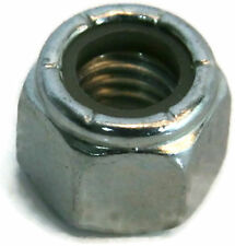 "Nylon Insert Lock Nut Zinc Grade A Hex Nuts - 1/4""-20 UNC - Qty-250"
