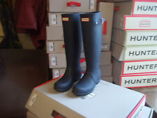 HUNTER WELLINGTONS IN HALIFAX AND BRADFORD  SIZE 8 NAVY ORIGINAL TALL WOMENS