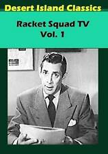Racket Squad Tv Vol. 1  DVD NEW
