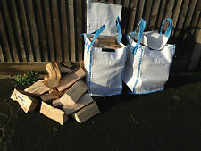 Garden Waste Log Storage Bags Heavy Duty 30x30x46cm 40 ltr Recycling Handles