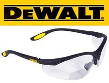 Dewalt Reinforcer 1.50 Clear Lens RX Safety Glasses Reading Reader Bifocal 1.5