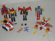 Lot vintage metal Toys-Shogun Warriors-Popy mattel-Japón