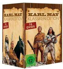 Winnetou & Karl May DVD Collection Box mit 16 DVDs - Klassiker Edition - NEU