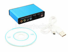 USB 6 Channel 5.1 S/PDIF Optical For PC Laptop  Sound Card Audio Xbox DVD Cinema