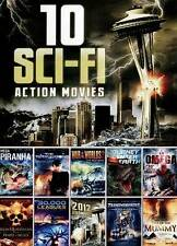 10 SCI-FI ACTION MOVIES (DVD) 14 HOURS+ BRAND NEW SEALED SHIPS NEXT DAY