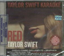 CD + DVD SET TAYLOR SWIFT RED KARAOKE EDITION SEALED NEW 2013