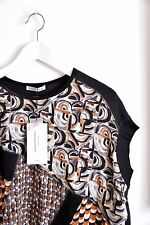 Zara New Printed Top Blouse Size S