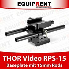 THOR Video RPS-15 Baseplate mit 15mm Rod Support für THOR Video Cages (EQT20)