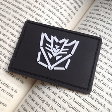 Evil Forces Decepticon Transformers USA US ARMY MORALE BADGE 3D PVC VELCRO PATCH