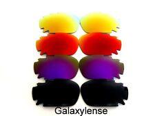 Galaxie Verres De Rechange Pour Oakley Jawbone Noir et Violet et Rouge et Or